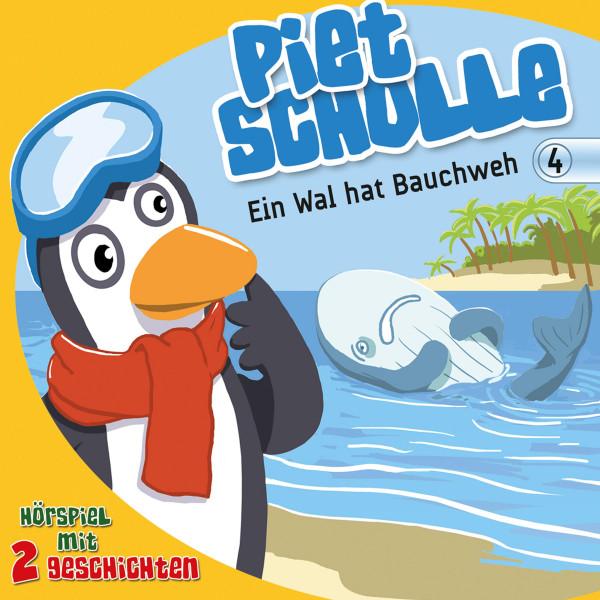 Ein Wal hat Bauchweh (Piet Scholle 4) - Hörspiel mit 2 Geschichten