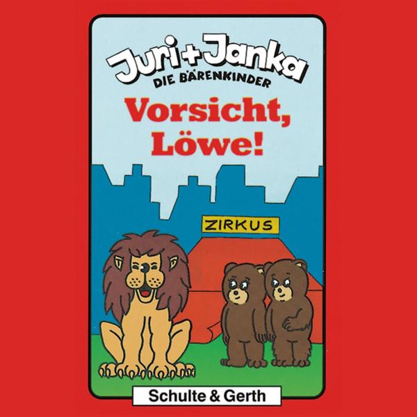 Vorsicht, Löwe! (Juri und Janka - Die Bärenkinder 4) - Ein musikalisches Kinder-Hörspiel