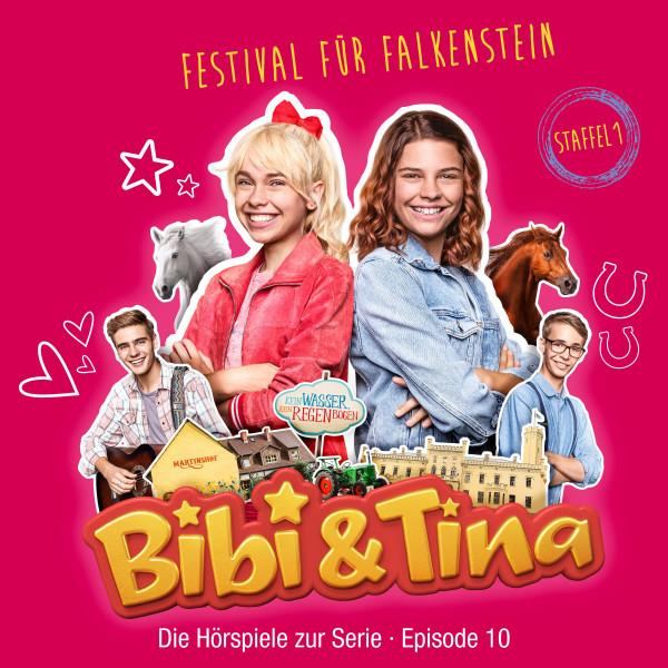 Bibi & Tina - S1/10: Festival für Falkenstein (Hörspiel zur Serie) - Amazon Prime Original Serie