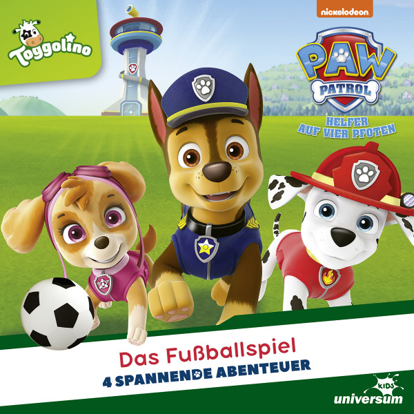 PAW Patrol - Folgen 80-83: Das Fußballspiel