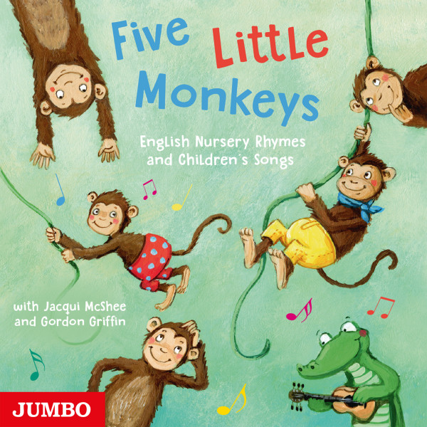 Five Little Monkeys - English Nursery Rhymes and Children's Songs