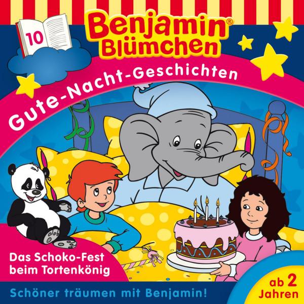 Benjamin Blümchen - Gute-Nacht-Geschichten - Das Schoko-Fest beim Tortenkönig - Folge 10