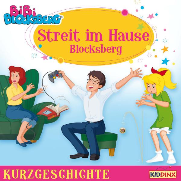 Bibi Blocksberg - Kurzgeschichte - Streit im Hause Blocksberg