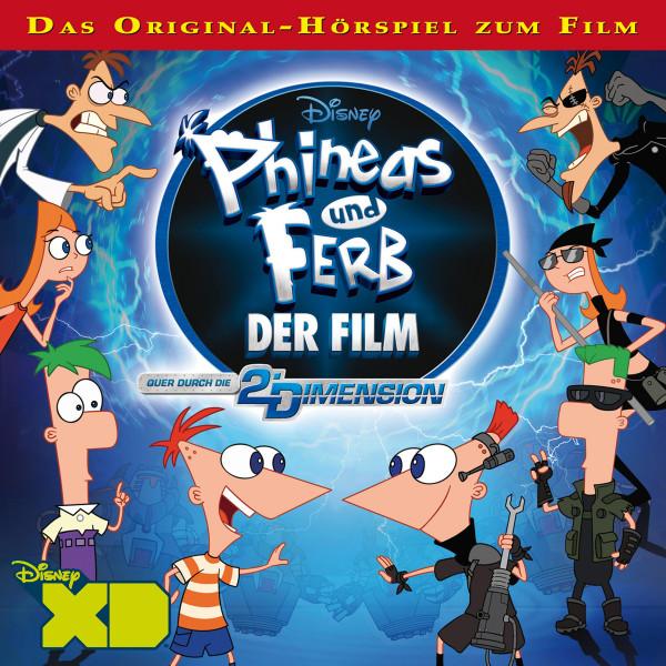 Disney - Phineas und Ferb - Quer durch die 2. Dimension