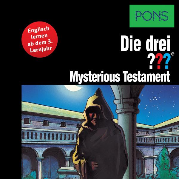 PONS Die drei ??? Fragezeichen Mysterious Testament - Lektüre: Englisch lernen mit den 3 Fragezeichen