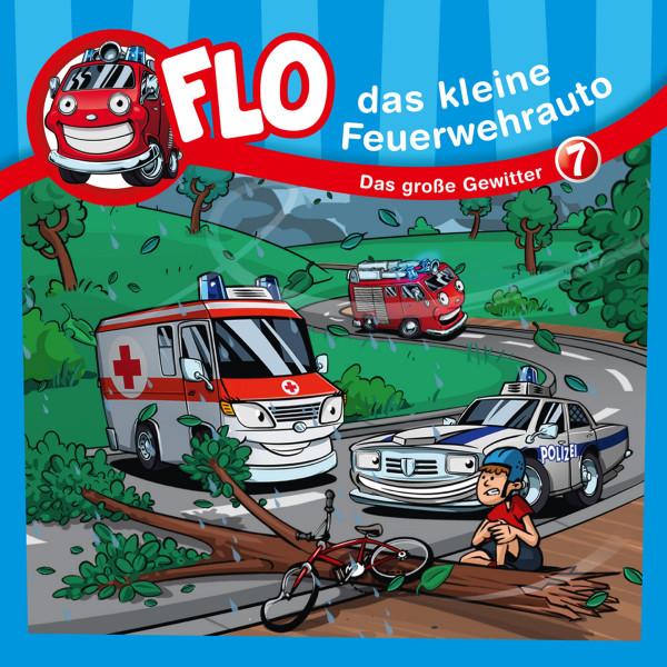Flo, das kleine Feuerwehrauto - 07: Das große Gewitter