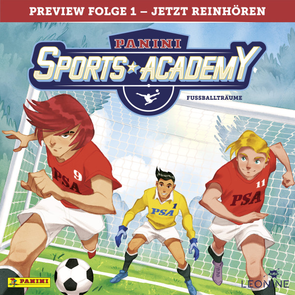 Panini Sports Academy (Fußball) - Preview Folge 01: Fußballträume