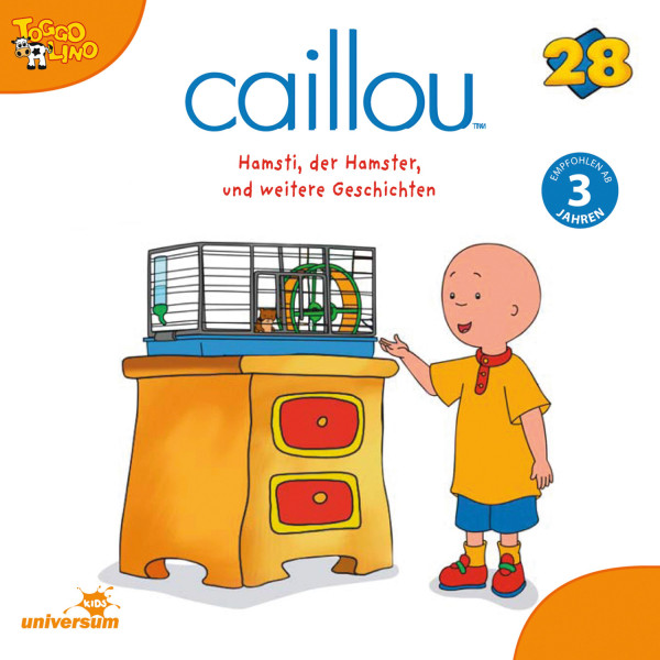 Caillou - Folgen 296-304: Hamsti, der Hamster