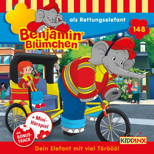 Benjamin Blümchen - Folge 148: als Rettungselefant