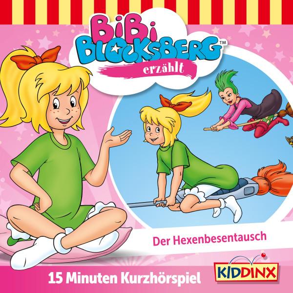 Bibi Blocksberg - Kurzhörspiel - Bibi erzählt: Der Hexenbesentausch - Bibi Blocksberg erzählt 12.1