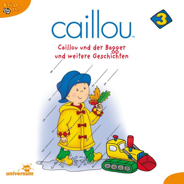 Caillou - Folgen 25-37: Caillou und der Bagger