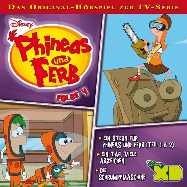 Disney - Phineas und Ferb - Folge 4 - Ein Stern für Phineas und Ferb - Teil 1 & 2/Ein Tag, viele Abzeichen/Die Schrumpfmaschine