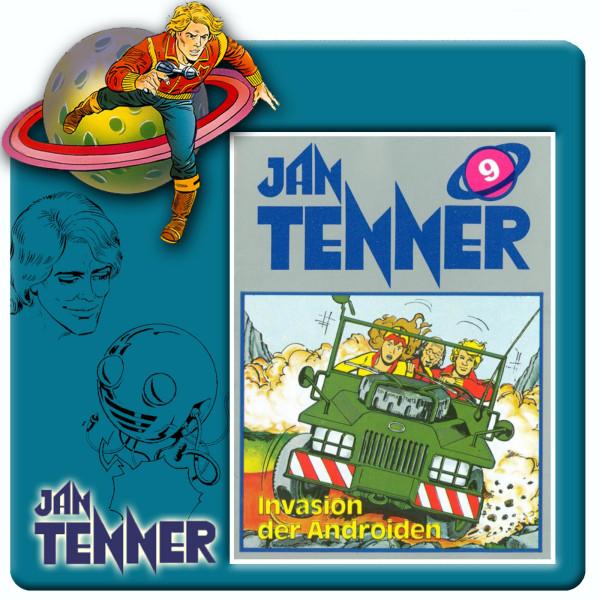 Jan Tenner Classics - Invasion der Androiden - Folge 9
