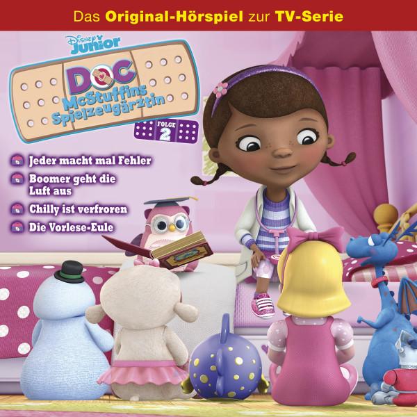 Doc McStuffins Hörspiel - Folge 2: Jeder macht mal Fehler/ Boomer geht die Luft aus/ Chilly ist verfroren/ Die Vorlese-Eule (Disney TV-Serie)