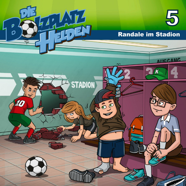 Die Bolzplatzhelden - 05: Randale im Stadion