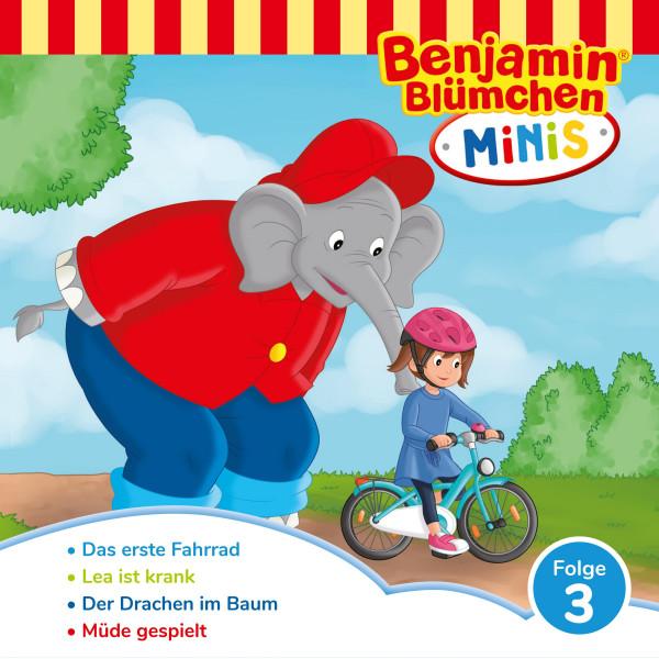 Benjamin Blümchen - Benjamin Minis - Folge 03: Das erste Fahrrad