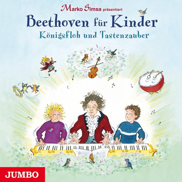 Beethoven für Kinder. Königsfloh und Tastenzauber