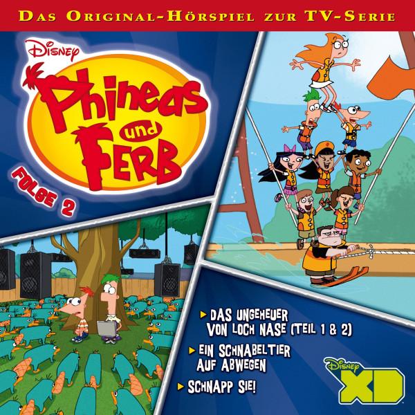 Disney - Phineas und Ferb - Folge 2 - Das Ungeheuer von Loch Nase 1 und 2/Ein Schnabeltier auf Abwegen/Schnapp sie!