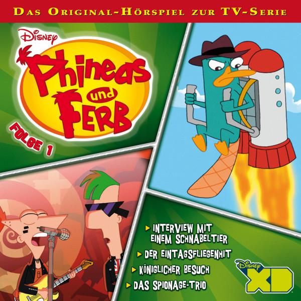 Disney - Phineas und Ferb - Folge 1 - Interview mit einem Schnabeltier/Der Eintagsfliegenhit/Königlicher Besuch/Das Spionage-Trio