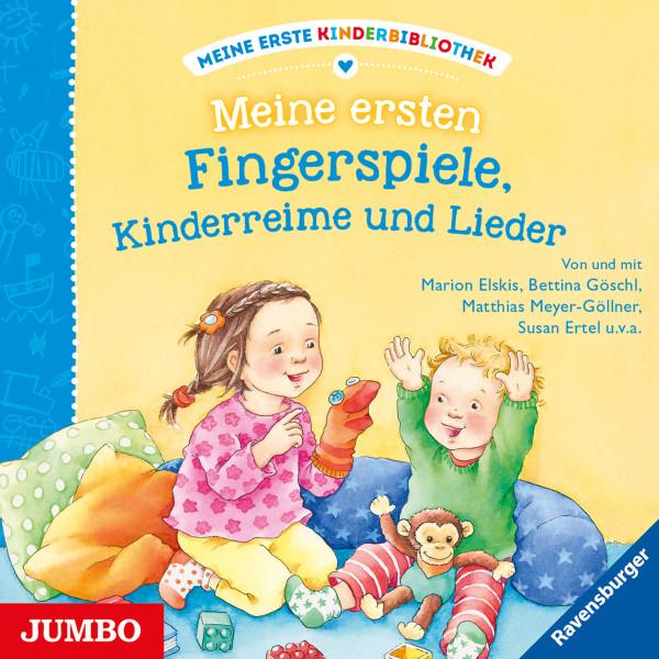 Meine ersten Fingerspiele, Kinderreime und Lieder - Meine erste Kinderbibliothek