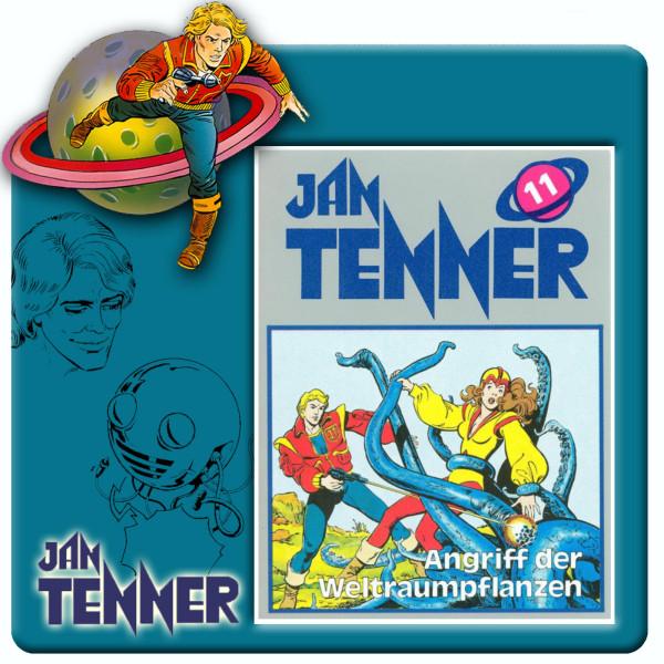 Jan Tenner Classics - Angriff der Weltraumpflanzen - Folge 11
