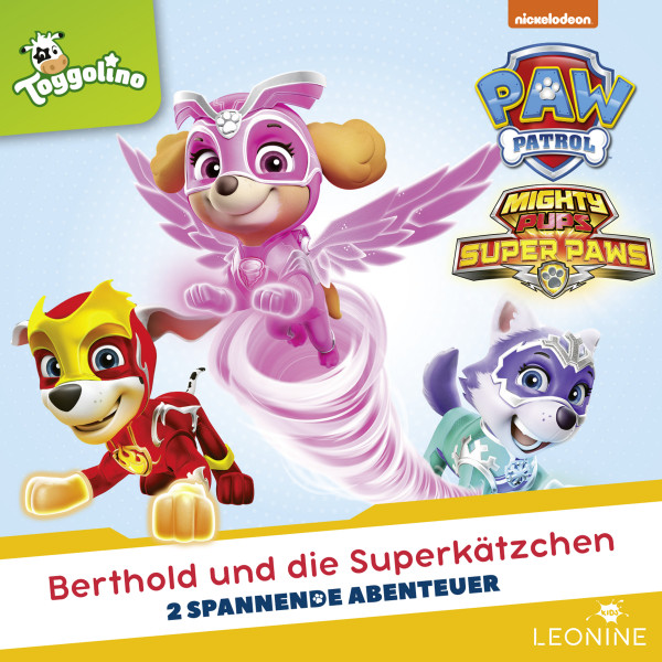 PAW Patrol - Folgen 115-116: Berthold und die Superkätzchen