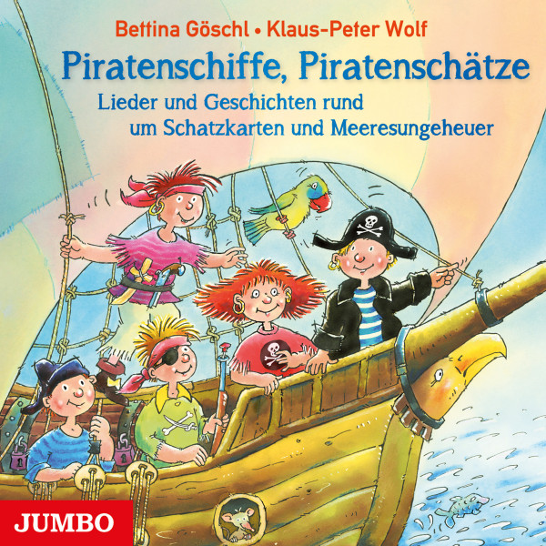 Piratenschiffe, Piratenschätze - Lieder und Geschichten rund um Schatzkarten und Meeresungeheuer