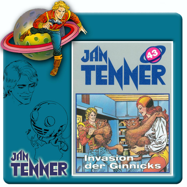 Jan Tenner Classics - Invasion der Ginnicks - Folge 43