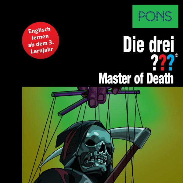 PONS Die drei ??? Fragezeichen Master of Death - Lektüre: Englisch lernen mit den 3 Fragezeichen