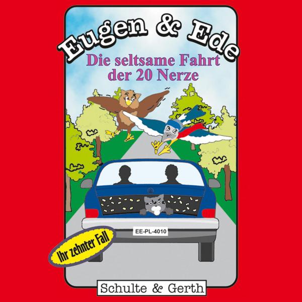 Die seltsame Fahrt der 20 Nerze (Eugen & Ede - Ihr zehnter Fall) - Ein musikalisches Kinder-Hörspiel