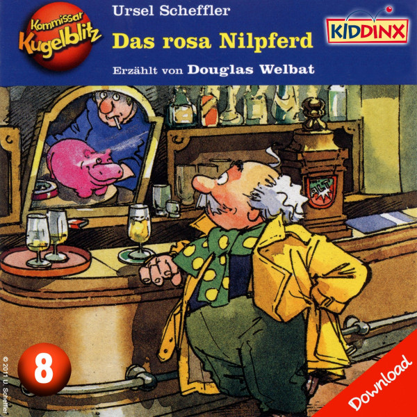 Kommissar Kugelblitz - Das rosa Nilpferd - Folge 8