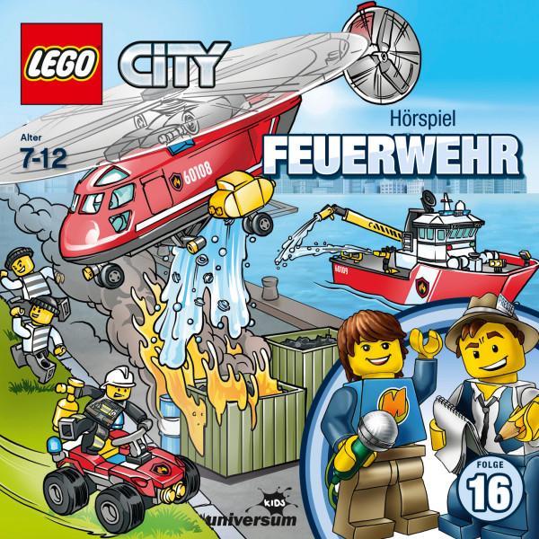 LEGO City: Folge 16 - Feuerwehr - Brandgefährlicher Einsatz