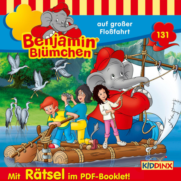 Benjamin Blümchen - … auf großer Floßfahrt