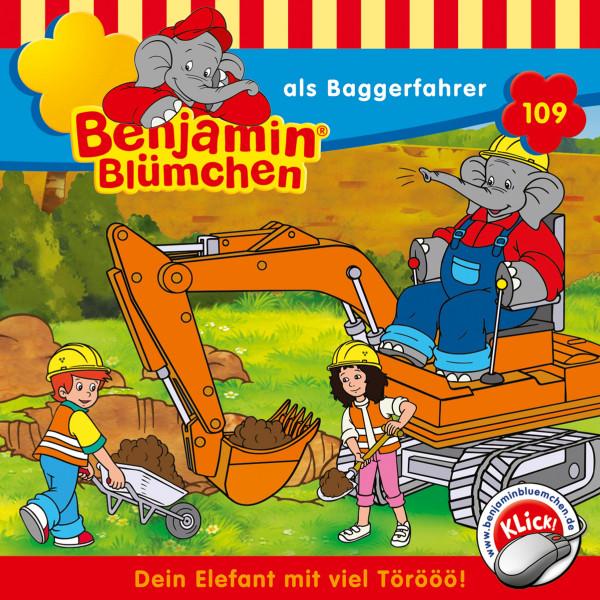 Benjamin Blümchen - ... als Baggerfahrer - Folge 109