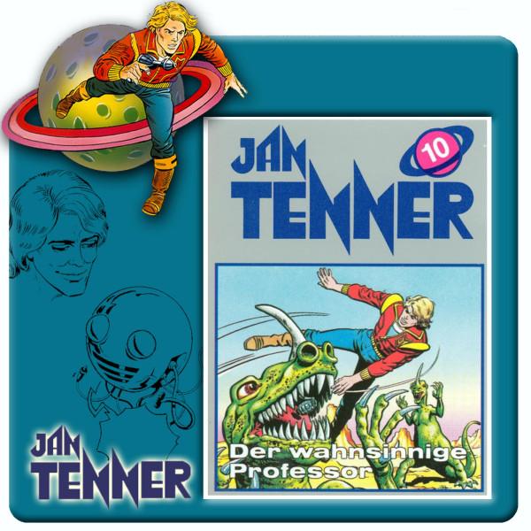 Jan Tenner Classics - Der wahnsinnige Professor - Folge 10