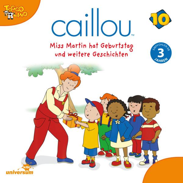 Caillou - Folgen 119-130: Miss Martin hat Geburtstag