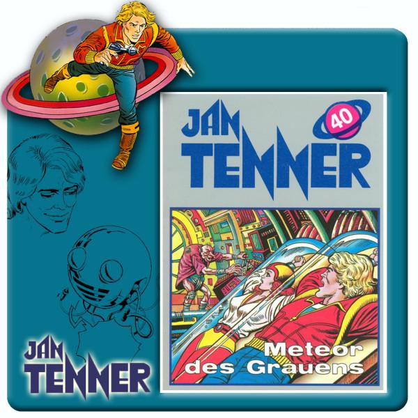 Jan Tenner Classics - Meteor des Grauens - Folge 40