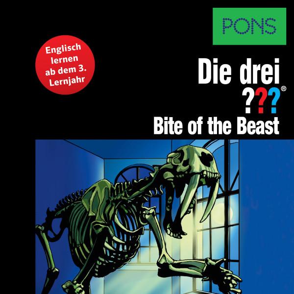 PONS Die drei ??? Fragezeichen Bite of the Beast - Lektüre: Englisch lernen mit den 3 Fragezeichen