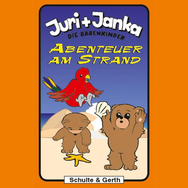 Abenteuer am Strand (Juri und Janka - Die Bärenkinder 7) - Ein musikalisches Kinder-Hörspiel