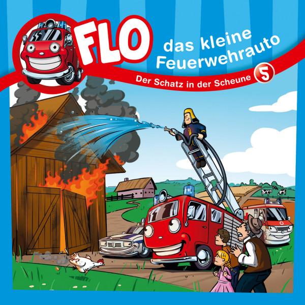 Flo, das kleine Feuerwehrauto - 05: Der Schatz in der Scheune