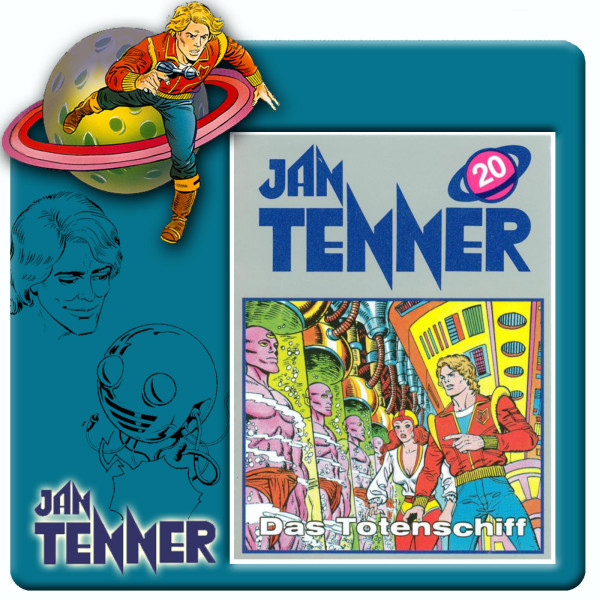 Jan Tenner Classics - Das Totenschiff - Folge 20