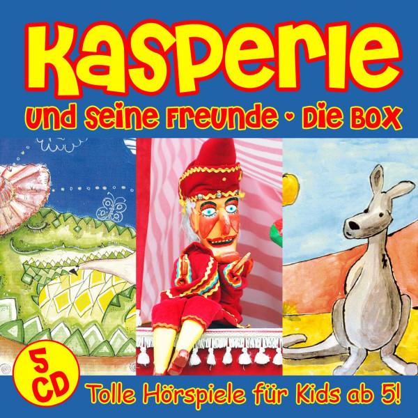 Kasperie - Kasperle Und Seine Freunde - Die Box - Tolle Hörspiele für Kids ab 5!