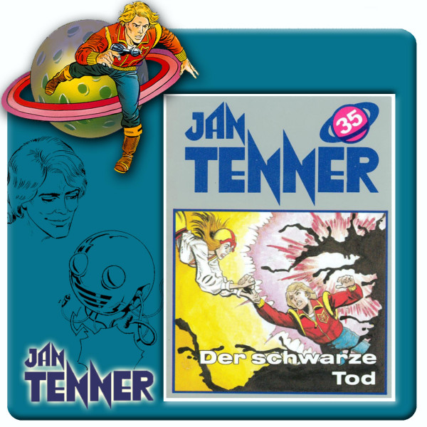 Jan Tenner Classics - Der schwarze Tod - Folge 35