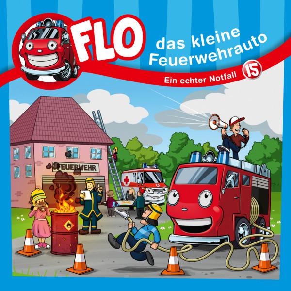 Flo, das kleine Feuerwehrauto - 15: Ein echter Notfall