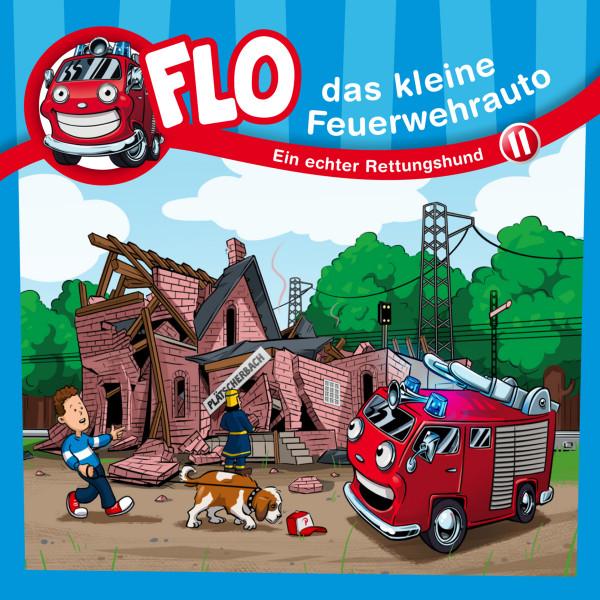 Flo, das kleine Feuerwehrauto - 11: Ein echter Rettungshund