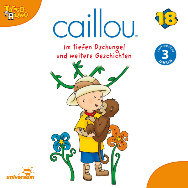 Caillou - Folgen 203-208: Im tiefen Dschungel