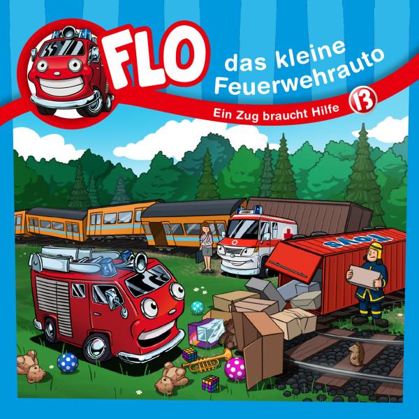 Flo, das kleine Feuerwehrauto - 13: Ein Zug braucht Hilfe