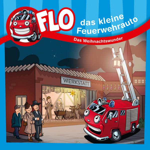 Flo, das kleine Feuerwehrauto - Das Weihnachtswunder