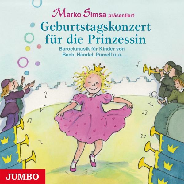 Geburtstagskonzert für die Prinzessin - Barockmusik für Kinder von Bach, Händel, Purcell u.a.