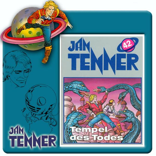 Jan Tenner Classics - Tempel des Todes - Folge 42
